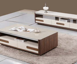 817# Coffee Table and Plasma Stand