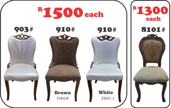 910#, 903# and 8101# Dining Chairs
