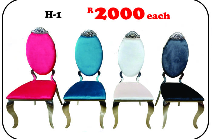 H-1 DINING CHAIRS