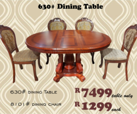 630# Dining Table