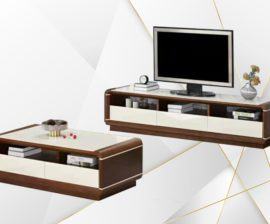Palazzo Tv Stand and Coffee Table