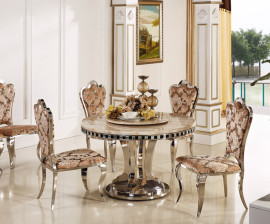 6 Seater Beverley Round Table