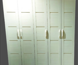 002-5 Door Wardrobe